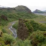 Blick auf Goðaland - Godaland II