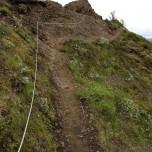 Steiler Aufstieg zum Eyjafjallajökull