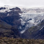 Blick zum Gletscher - Gletscherblick I