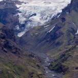 Gletscherfluss auf Island