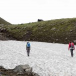 Schneewanderung zum Eyjafjallajökull