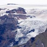 Gletscherzunge - Eyjafjallajökull, Island