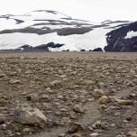 Vor uns die Schlucht Hrunagil am Eyjafjallajökull