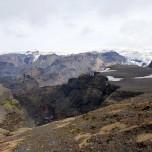 Farbige Felsen am Eyjafjallajökull I