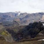 Farbige Felsen am Eyjafjallajökull II