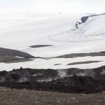 Warm und Kalt, Lava und Schnee am Eyjafjallajökull