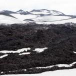 Dampfende Lava des Eyjafjallajökull II