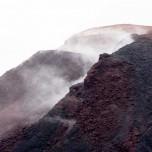 Gipfelkrater des Vulkans Eyjafjallajökull auf Island