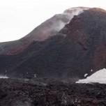 Vulkankegel des Vulkans Eyjafjallajökull auf Island