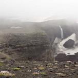 Zurück am Lavafall des Vulkans Eyjafjallajökull I