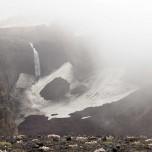 Zurück am Lavafall des Vulkans Eyjafjallajökull II