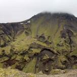 Grüner Abhang auf Island I