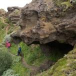Höhle in Porsmörk auf Island