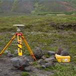 Seismisches Messgerät zur Überwachung des Vulkans Katla