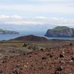 Eyjafjallajökull von den Westmännerinseln aus