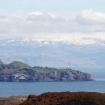 Elliðaey und Eyjafjallajökull