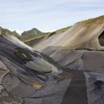 Sicherungsnetze in Pompei Norðursins - Pompei des Nordens