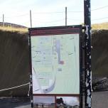 Hinweistafel in Pompei Norðursins - Pompei des Nordens
