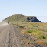 Straße auf Isländisch