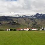 Þorvaldseyri mit Gletscher Eyjafjallajökull III