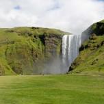 Wasserfall Skógafoss auf Island I