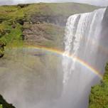 Doppelter Regenbogen I