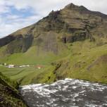 Wasserfall Skógafoss auf Island II