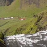 Wasserfall Skógafoss auf Island III