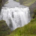 Wasserfall der Skógá III