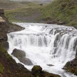 Wasserfall der Skógá IV