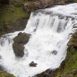 Wasserfall der Skógá VI