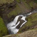 Wasserfall der Skógá VII