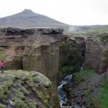 Canyon der Skógá VI
