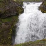 Wasserfall der Skógá VIII