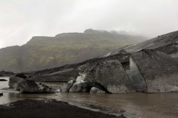 Gletscher Sólheimajökull auf Island