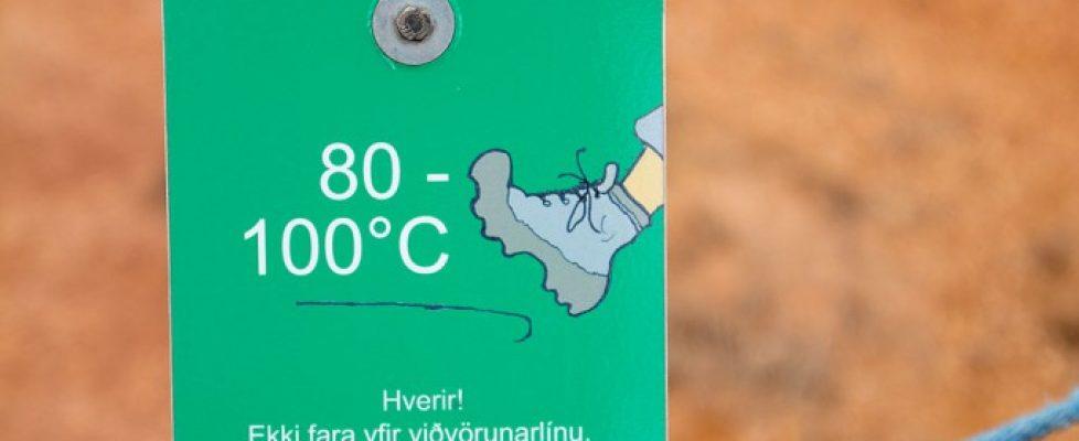 Heißer Boden in Hveragerdi