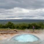 Geysir Strokkur Ausbruch II