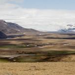 Talgletscher des Hofsjökull
