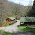 Köhlerhütte und Rastplatz