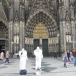 Straßenkünstler in Köln