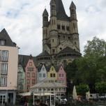 Am Rheinufer in Köln 1