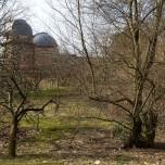 Erster Blick auf des Observatorium