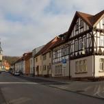 Schiefer Turm (links) & Alte Hämelei (rechts)