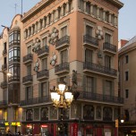 An der La Rambla, der Prachtstraße von Barcelona