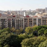 Balkone in Barcelona I