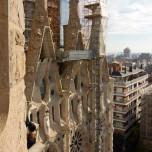 Fassade der Sagrada Família
