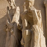 Passionsfassade der Sagrada Familia, Skulptur III