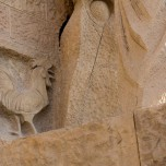 Passionsfassade, Skulptur V