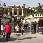 Eingang zum Park Güell