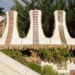 Park Güell, Mosaik I